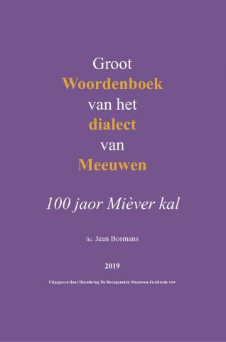 voorstelling dialectwoordenboek