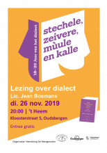 Lezing over dialect